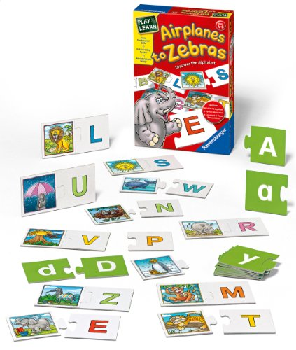 Ravensburger Airplanes to Zebras - Discover the Alphabet