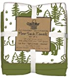 Moose & Bear 3-Pc Flour Sack Towel Set