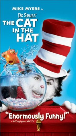 Dr Seuss the Cat in the Hat [VHS]