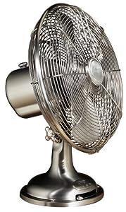 Hunter 90021 12 inch oscillating table fan for 12 inch oscillating table fan