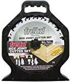 Freud SBOX8 Box Joint Cutter Set, Cuts 1/4-Inch and 3/8-Inch grooves.