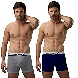 Force Nxt Men Cotton Long Trunk (Pack Of 3) (FF131AS_Assorted_80)
