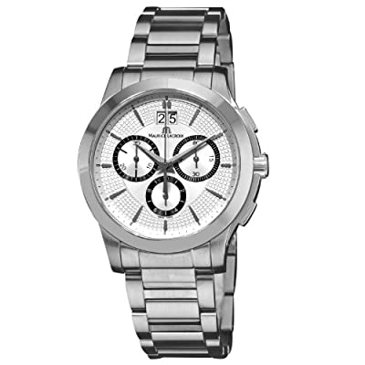 Maurice Lacroix Men's MI1077-SS002130 Miros Miros' Stainless Steel Chronograph Watch Watch