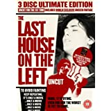 Last House On The Left - 3 Disc Ultimate Edition (Uncut) [1972] [DVD]by Wes Craven