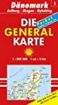 Generalkarte D�nemark 1. Aalborg, Ska...