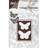 Ecstasy Crafts Joy! Crafts Cutting Die, Butterflies, 1.5-Inch