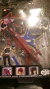 Outlaw Star Figure Set- Gene Starwind and Melfina
