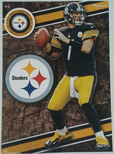 "Ben Roethlisberger 2014 NFL Fathead Tradeables 5"" x 7"" Pittsburgh Steelers - #42"