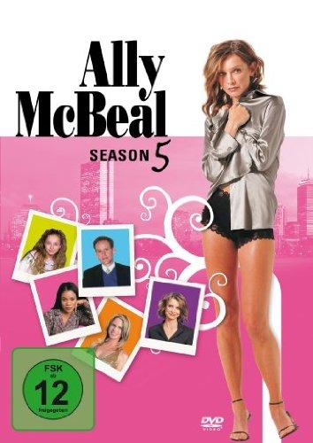 DVD ALLY MCBEAL SEASON 5