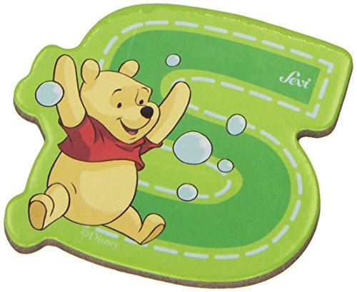 Sevi 82777 Klebebuchstabe S Winnie the Pooh