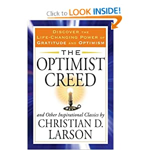 Buy The Optimist Creed Tarcher Success Classics Book border=