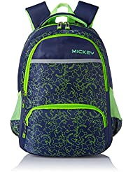 Simba 16 Inches Navy Blue Children's Backpack (BTS-2046)
