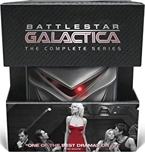 Battlestar Galactica: The Complete 2004 Series (+ Collectible Cylon)