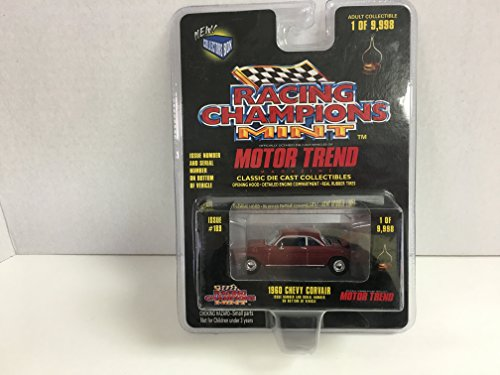 Motor Trend 1960 Chevy Corvair Red by Racing Champions Mint (Corvair Model compare prices)