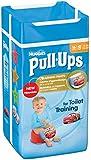Huggies Pull Ups Potty Training Pants for Boys - Small (8-15 kg), 16 x 6 Packs (96 Pants)