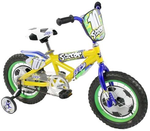 Dynacraft Lil Pro Boys Soccer Bike (14-Inch Wheels)
