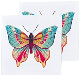 Tattly Temporary Tattoos, Butterfly 2, 0.1 Ounce