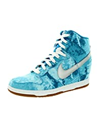 Nike Womens Dunk Sky Hi Print Trainers 543258 Sneakers Shoes