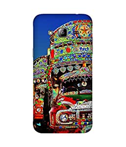India Trucks Samsung Galaxy J2 Printed Back Cover