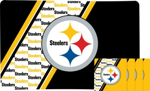 Pittsburgh Steelers Placemat And Coaster Set at SteelerMania