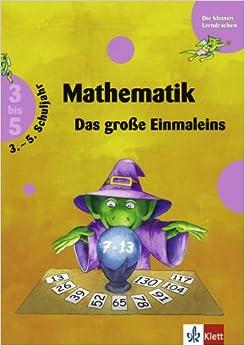 Training Mathematik. Das große Einmaleins. 3. - 5