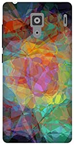 The Racoon Lean abstractism dark hard plastic printed back case for Xiaomi Redmi