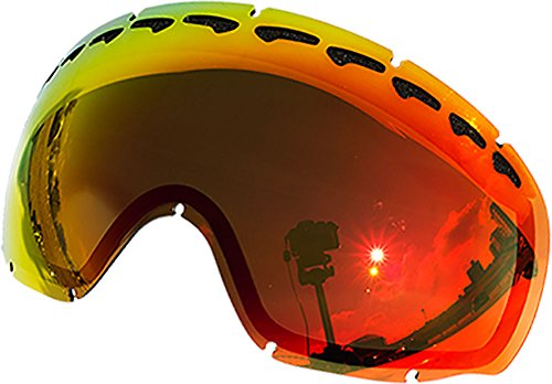 Zero Replacement Lenses For Oakley Crowbar Snow Goggle Red Mirror