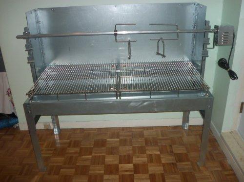 Bbq Pig Lamb Spit Roast Roaster Rotisserie Skewer Souvla Pigroast Charcoal 800