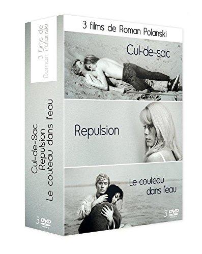 Roman Polanski : Cul-De-Sac / Repulsion / Le Couteau Dans L'Eau [Edizione: Francia]