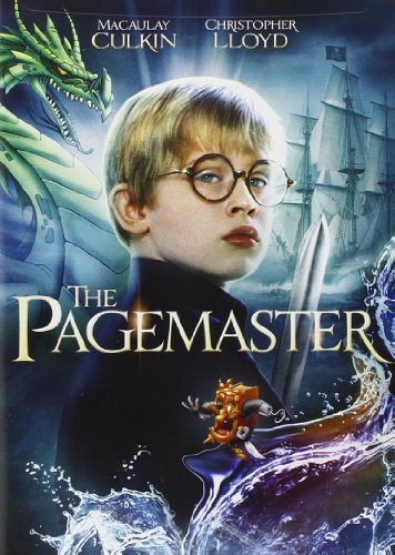 DVD : The Pagemaster (Full Frame, Widescreen, Repackaged, AC-3, Dolby)