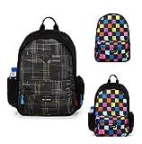 Top Power 9080 DIY Backpack Build Your Own Backpack Set-Block Check-Black Plaid-Black