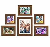 Painting Mantra My Gang set of 6 individual brown photo frame