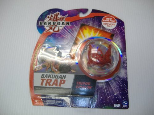 Bakugan Trap Tripod Epsilon- Red - 1