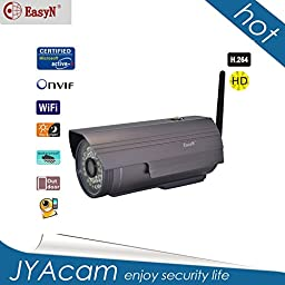 EasyN H3-106V Waterproof Outdoor P2P Wireless HD IP Camera Webcam Internet IR Night vision 25M two way audio
