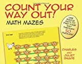 img - for Count Your Way Out! Math Mazes (Dover Children's Activity Books) book / textbook / text book
