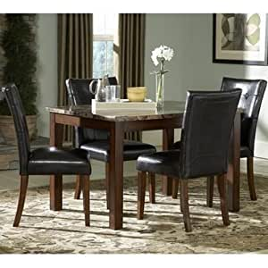 Homelegance Achillea 3 Piece 48 Inch Dining Room Set Table Am