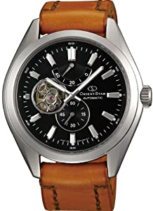 ORIENT STAR Semi-skeleton Automatic (with manual winding) Men's Watch WZ0101DK