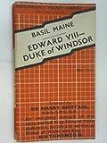 img - for Edward VIII - Duke of Windsor book / textbook / text book