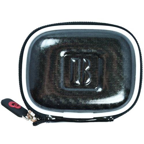 Vangoddy Compact Carrying Case For Beats Audio Urbeats / Se / Beats Tour / Powerbeats / Heartbeats Earphones (Carbonfiber Black)