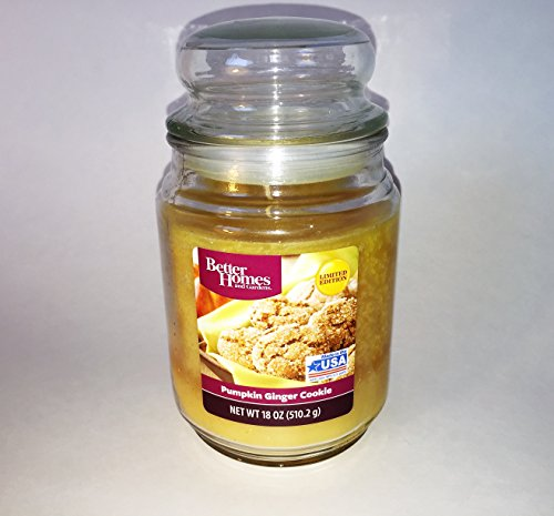 Pumpkin Ginger Cookie Candle 18 Ounces Better Homes