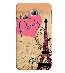 Blue Throat Good Times In Paris Beautifully Design Printed Back Cover For Samsung Galaxy A8