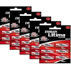 Eveready Ultima 2-AAA Alkaline Battery Pack (Pack of 10)
