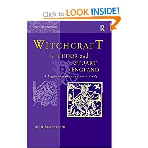 Witchcraft in Tudor and Stuart England Alan Macfarlane