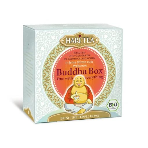 Hari-Tea-Buddha-Box-One-with-everything-11-feine-Sorten-2er-Pack-2-x-22-g-Bio