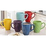 Daily Chef Ceramic 6 Piece Mug Set