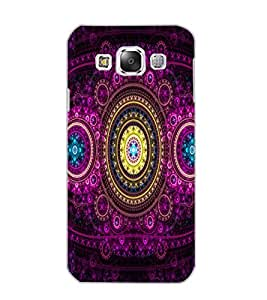 SAMSUNG GALAXY E5 PATTERN Back Cover by PRINTSWAG