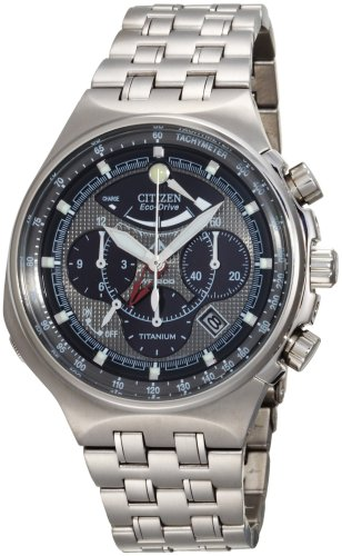 Citizen Men's Eco-Drive Titanium Calibre 2100 Watch #AV0021-52H