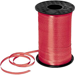 Red Curling Ribbon 450yds