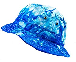 Colortone Bucket Hats Youth Spider Baby Blue