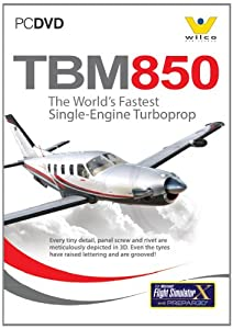 Socata TBM850 for FS2004 and FSX (PC DVD)